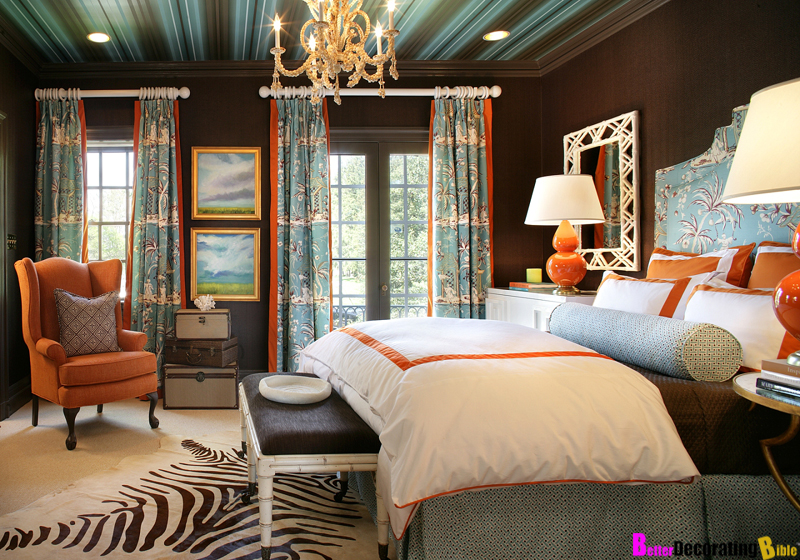 Bedroom Decorating Ideas Blue And Orange blue and orange bedrooms - creditrestore