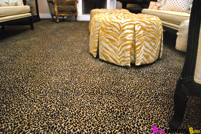 Leopard Carpet Wall To Wall : Leopard carpeting floor matttroy