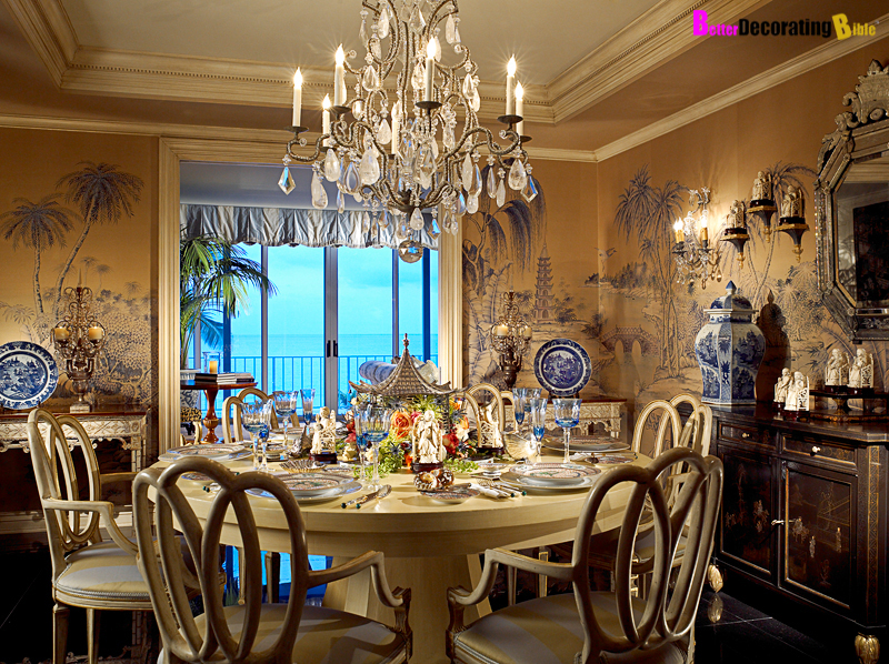 timeless decorating with a blue and beige color palette