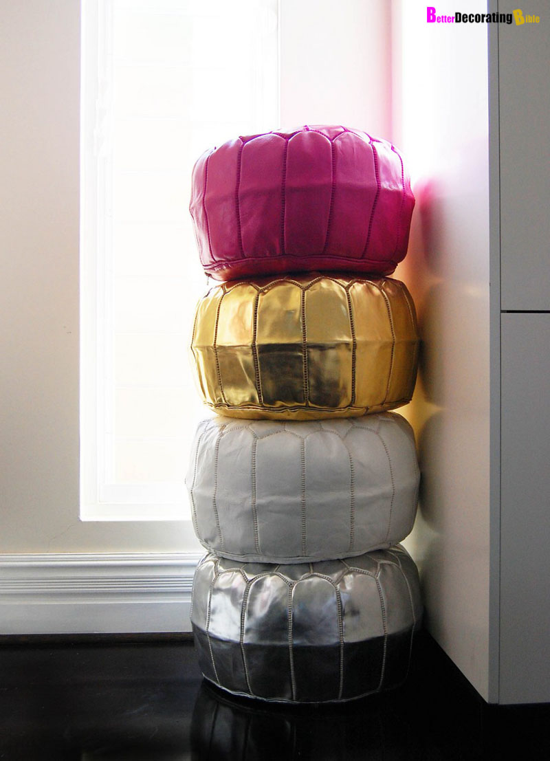 Must-Have Accessory: Moroccan Pouf