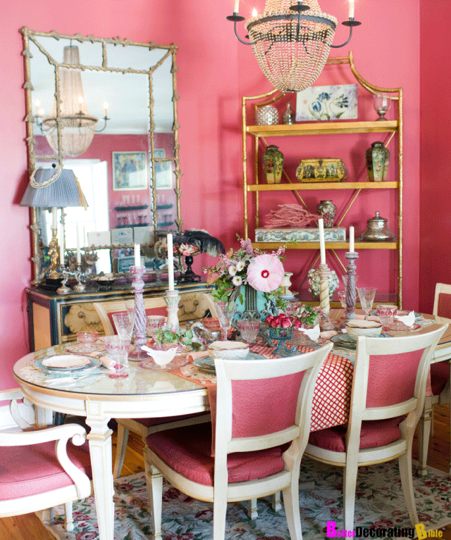 Google image result for - Pink and gold living room ...