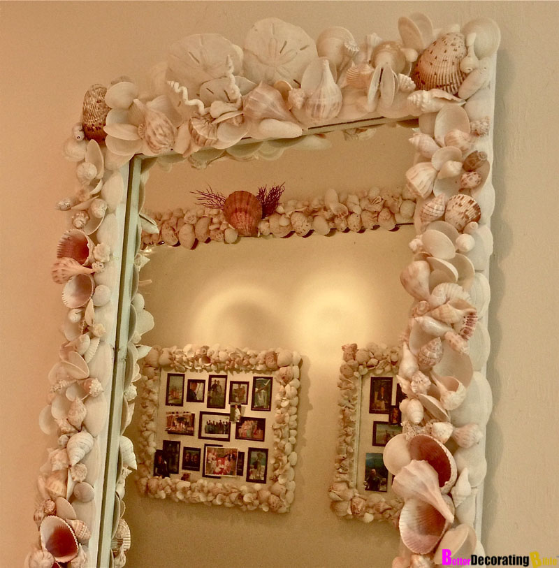 Alfa img - Showing > Decorating with Sea Shells Picture Frames