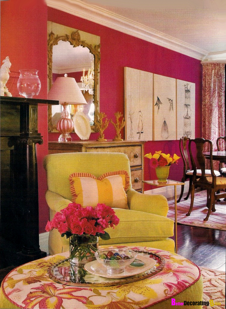 Pretty in Pink Decorating