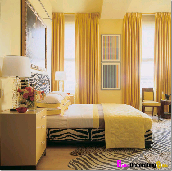 Bright color bedroom decor 2017 2018 best cars reviews for Bedroom ideas yellow walls