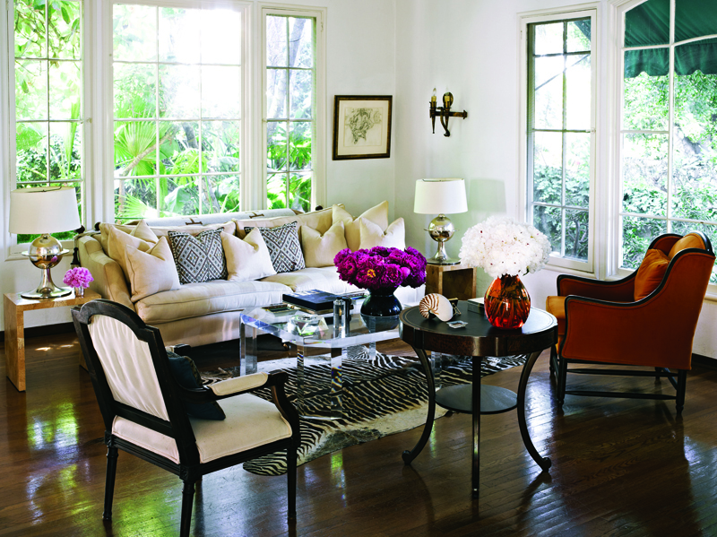 Featured Home: Jacqui Getty's Villa in the Hollywood Hills