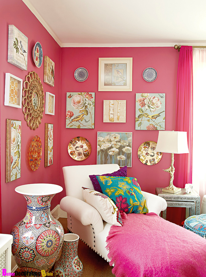 Go With The Flow How To Decorate Using Posh Pink Hues