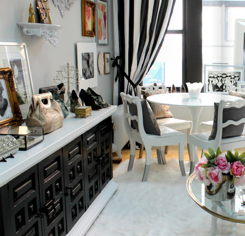 Feast Your Eyes Gorgeous Dining Room Decorating Ideas: French Boudoir Gets A Whole New Look