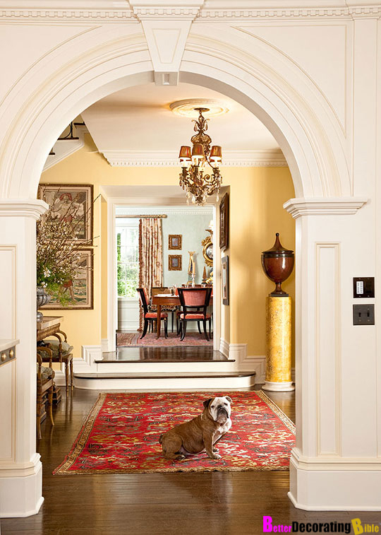 Arches Likewise Idea Dining Room Archway Besides Interior Home Arches