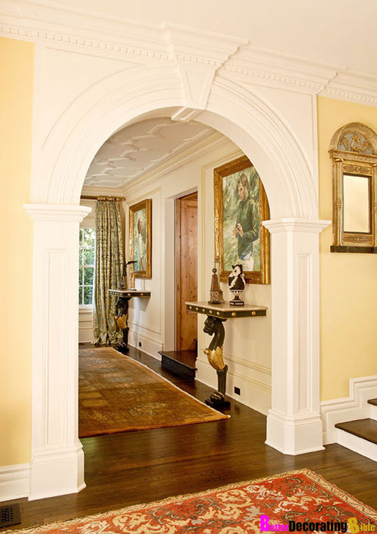 Designer secret why arched entryways make the perfect for Decorating arches in house