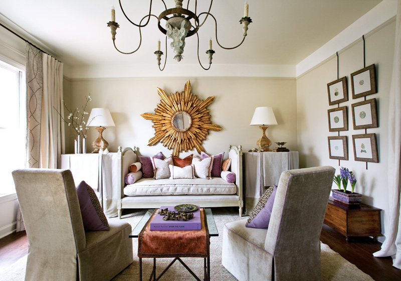 Interior Design How To Make Gold And Lavender Work