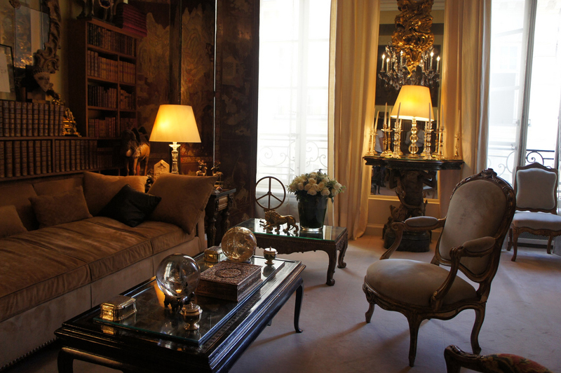 Coco chanel s living room tour for S carey living room tour