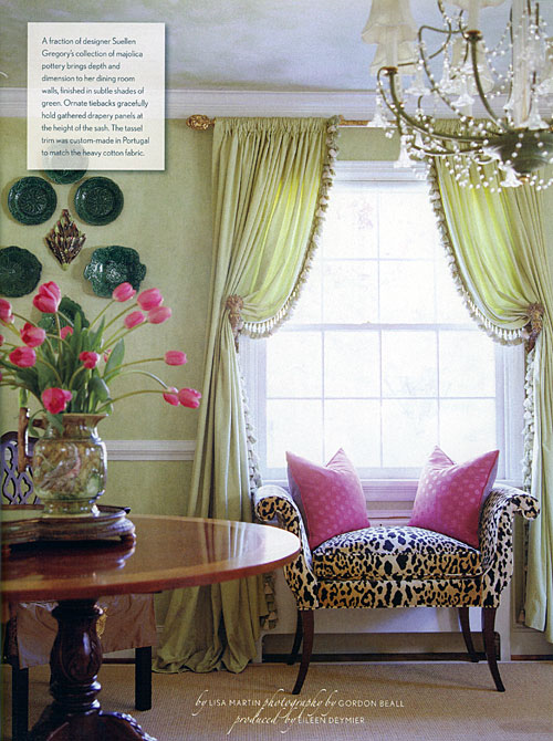 Green Leopard Suzy Q Better Decorating Bible Blog