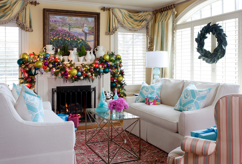 try something new - icy blue christmas theme
