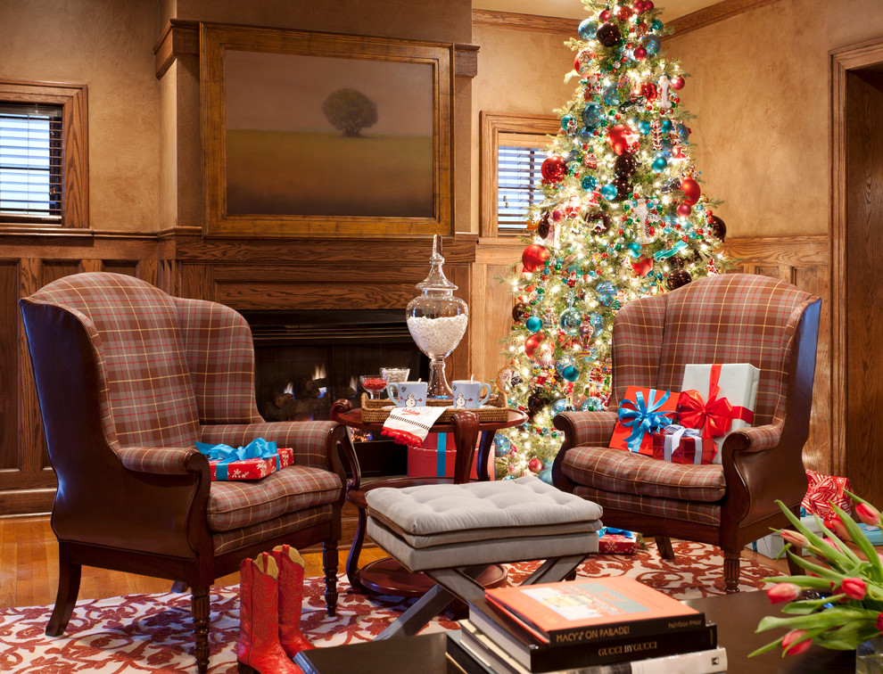 Holiday decorating the best inspirational spaces for Christmas ideas for living room