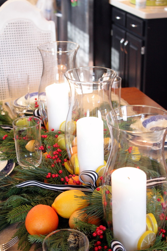 Centerpiece Ideas For Dinner Party : How to set a trendy table this holiday season