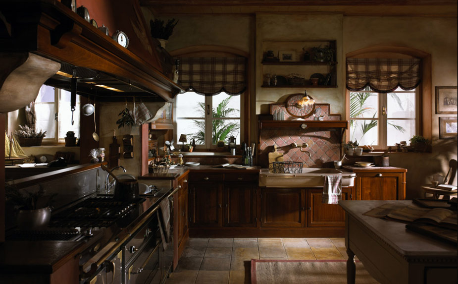 10 Country Style Kitchen Décor Ideas | BetterDecoratingBible