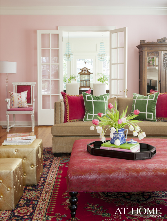 Get The Look Glamorous Pink Gold And Green Color Combo