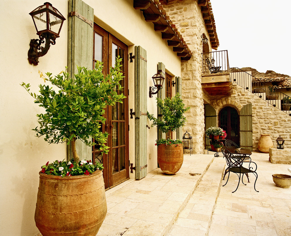 Tuscan Backyard Decor : Don Ziebell 2 blog, ideas, patio, Mediterranean, patio, shingles