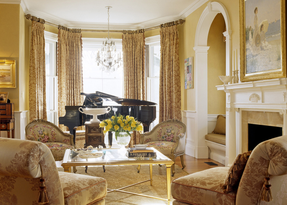Restoring a charming victorian home look at the stunning - Victorian style living room ...