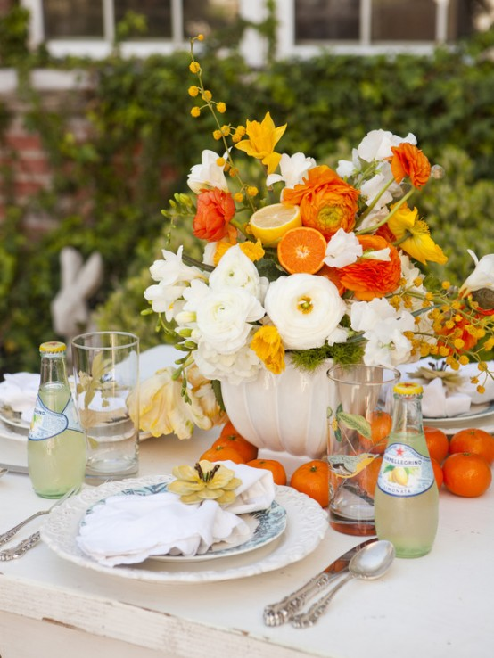 Work with mother nature for a successful outdoor dinner party ...