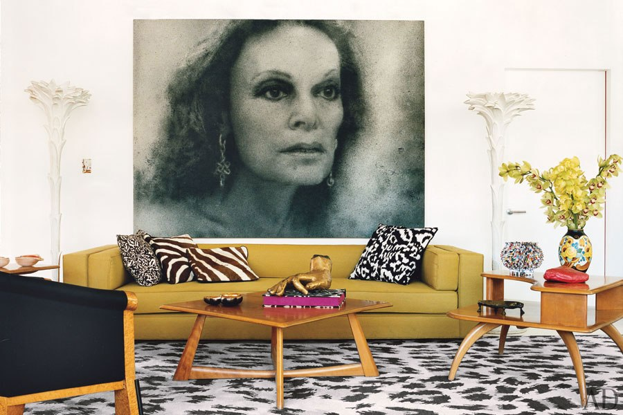 celebrity home diane von furstenberg 39 s manhattan