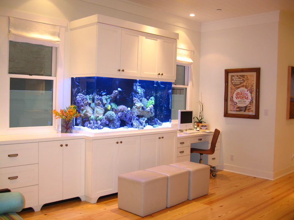 Kitchen Backsplash Fish Tank