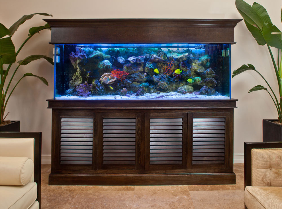 How to Decorate with an Aquarium Fish Tank ...
