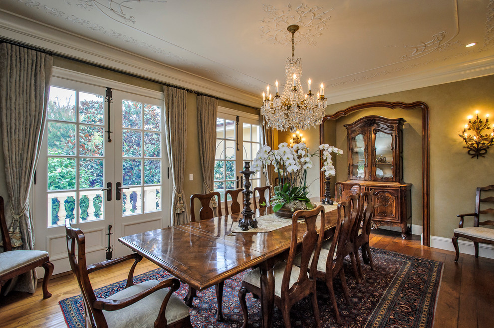 dining room mediterranean home french revival provincial cream sofas yellow curtains better decorating bible blog balcony walkway