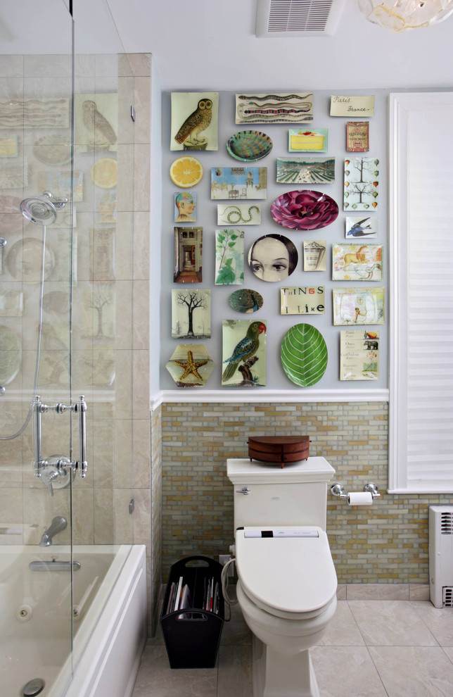kati kurtis design artwork tiles plates wall washroom better decorating bible blog ideas eclectic-bathroom