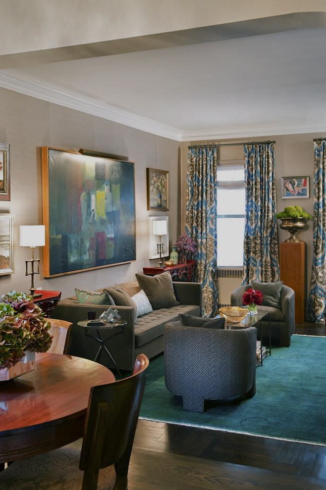 shagreene design emerald turquoise rug retro style damask curtains better decorating bible blog