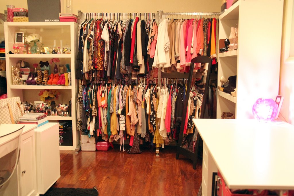 A Dream Girl S Closet And Office In One