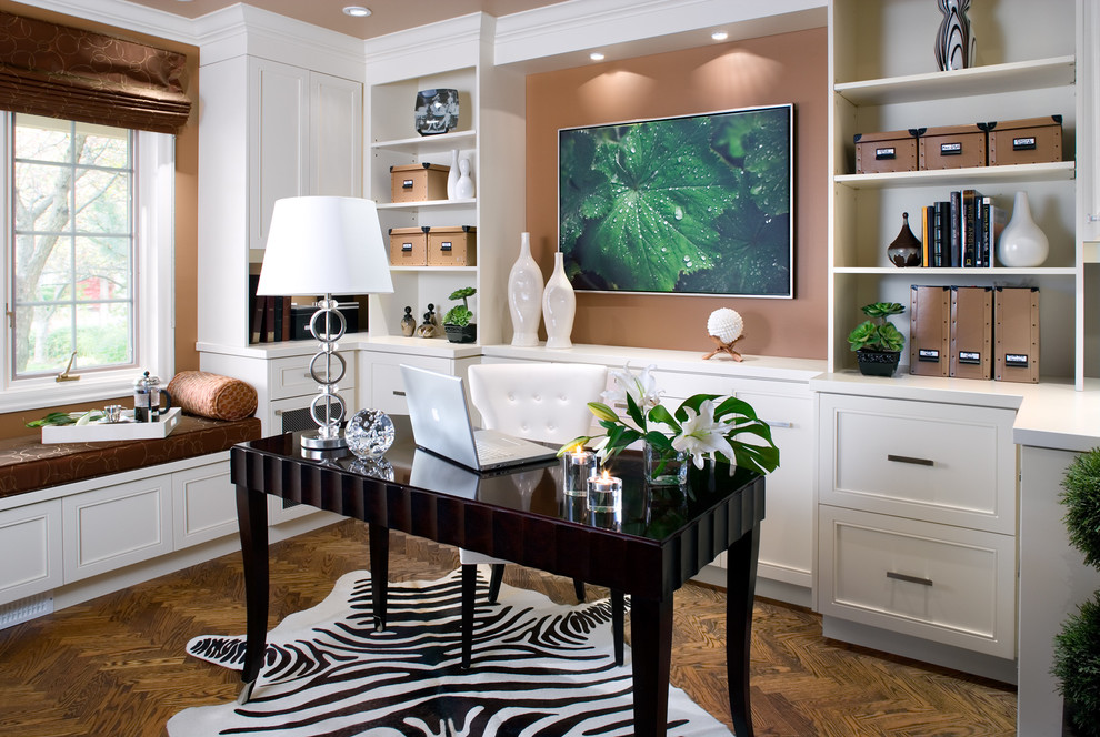 contemporary home office 4 3 tok design - Design Your Home Office