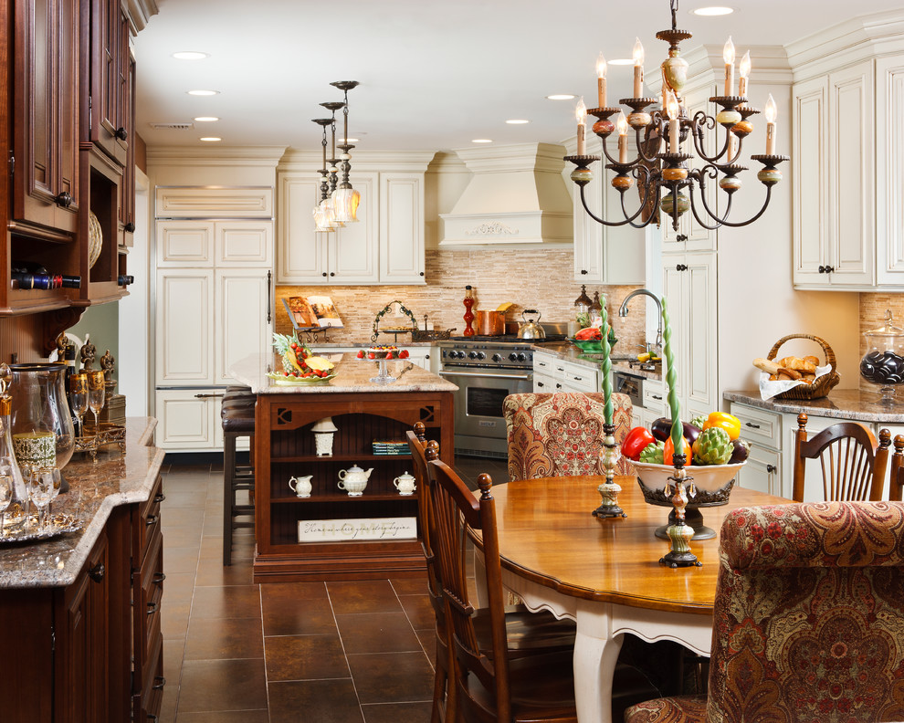 creative design construction traditional-kitchen