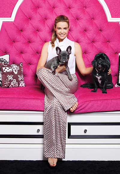 denise richards celebrity home tour dogs
