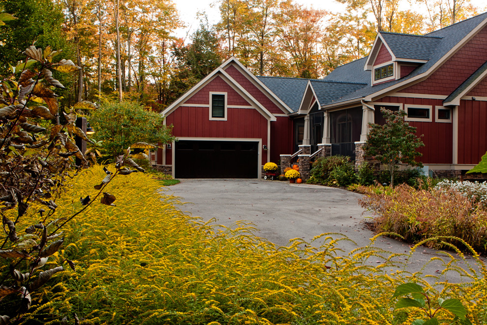 Ultimate fall makeover easy budget friendly outdoor for Craftsman landscape design ideas