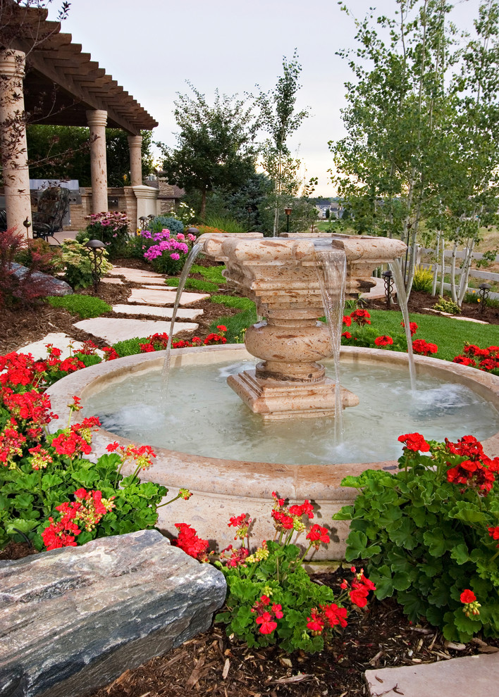 5 easy ways to create a relaxing garden getaway betterdecoratingbiblebetterdecoratingbible - Mediterranean backyard designs ...