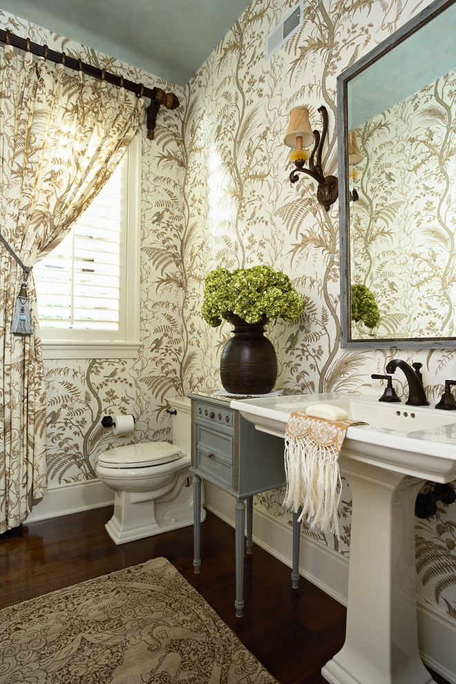 10 Amazing Bathroom Wallpaper Ideas And Tricks