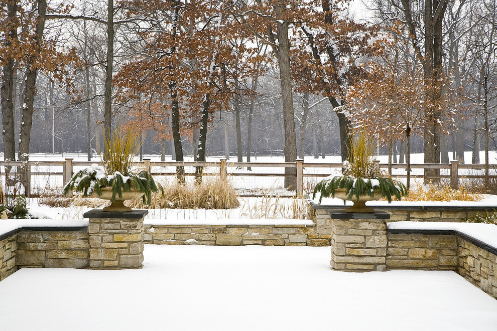 winter garden patio--landscape