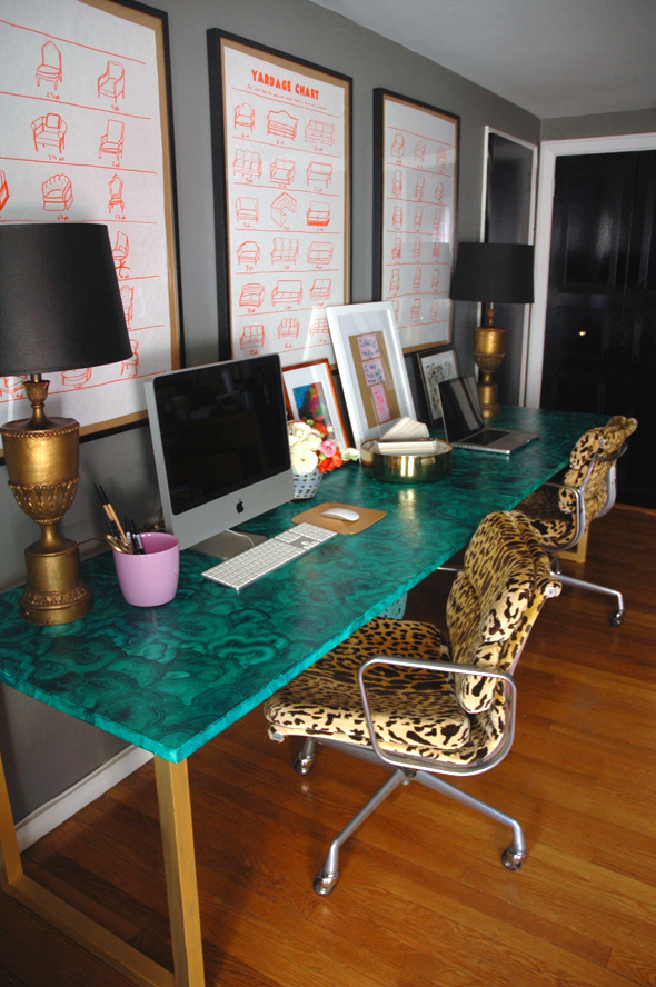 1 diy malachite table gold legs leopard chair how to easy ideas paint better decorating bible blog