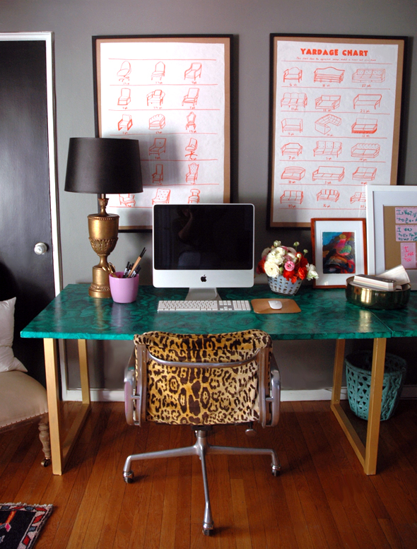 diy malachite table gold legs leopard chair how to easy ideas paint better decorating bible blog