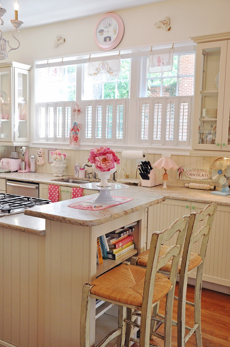 girly floral pin up decor kitchen how to better decorating bible blog