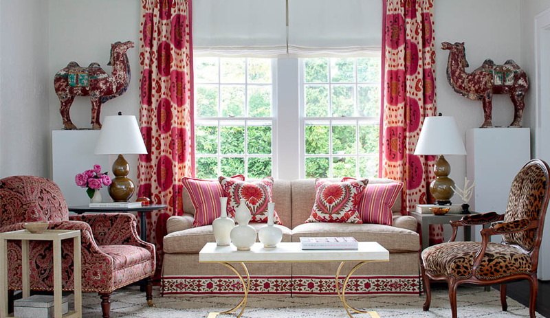 Bohemian Style Interiors Living Rooms And Bedrooms: Shop The Room: Funky Bohemian Living Room