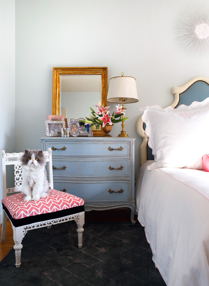 Eclectic Bedroom Designs That Will Give You Creative Ideas: Sara Tuttle Eclectic-bedroom