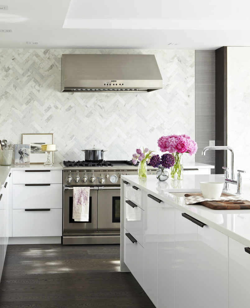 Modern Kitchen Pictures: Creating The Perfect Kitchen Backsplash With Mosaic Tiles