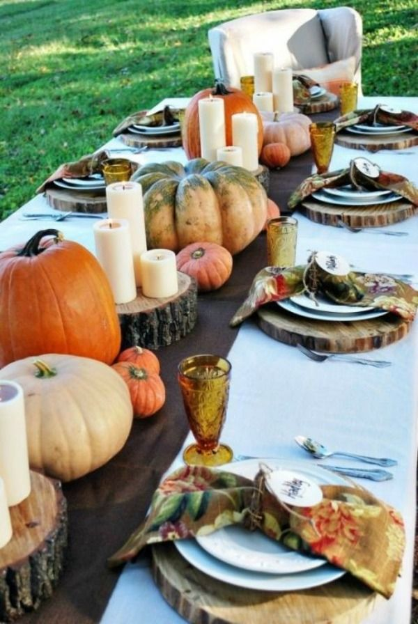 20 easy thanksgiving decorations for your home Thanksgiving table decorations homemade