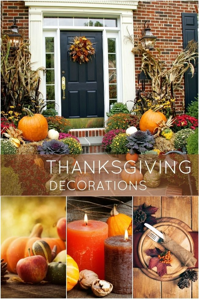 20 easy thanksgiving decorations for your home for Thanksgiving home ideas