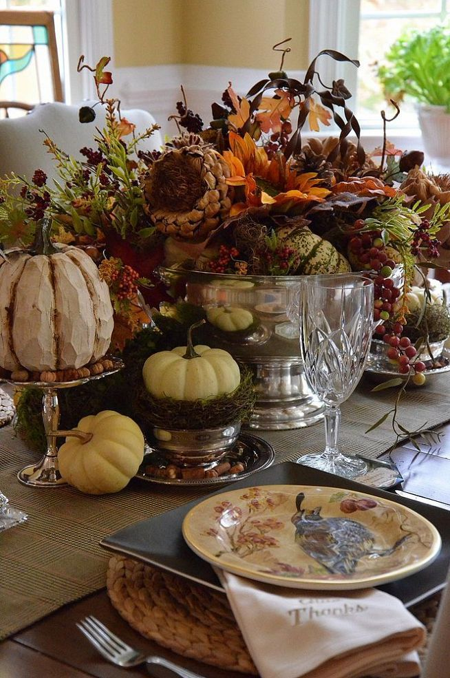 66 thanksgiving centerpiece acorn candle leaves corn diy holders easy budget last minute cheap