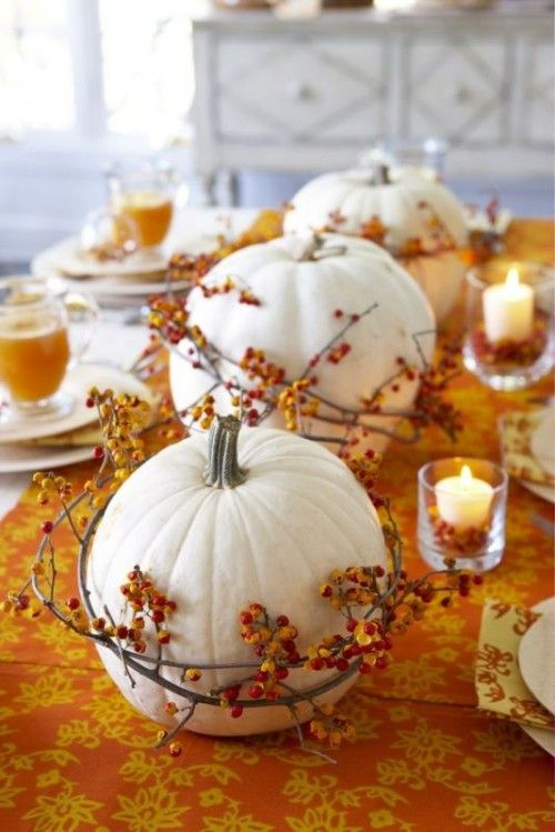 88 easy thanksgiving decor table how to candles centerpiece fall leaves pumpkins squashes dinin table front door projects last minute diy ideas vases place mats
