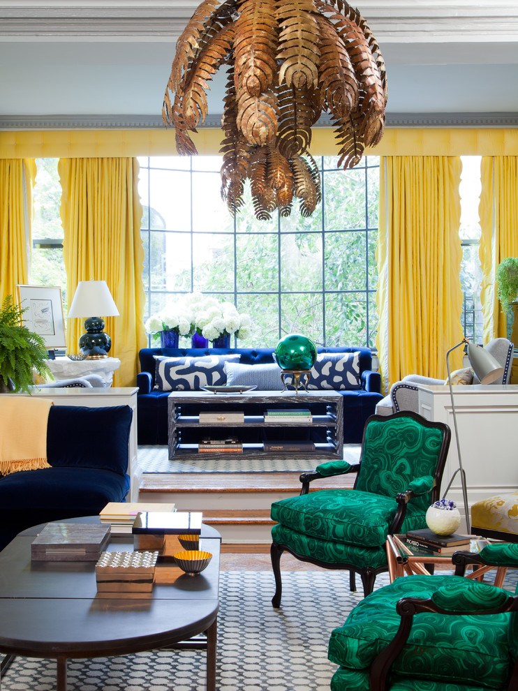 Living Room Design Green: 5 Easy Ways To Decorate With COLOR Without Paint