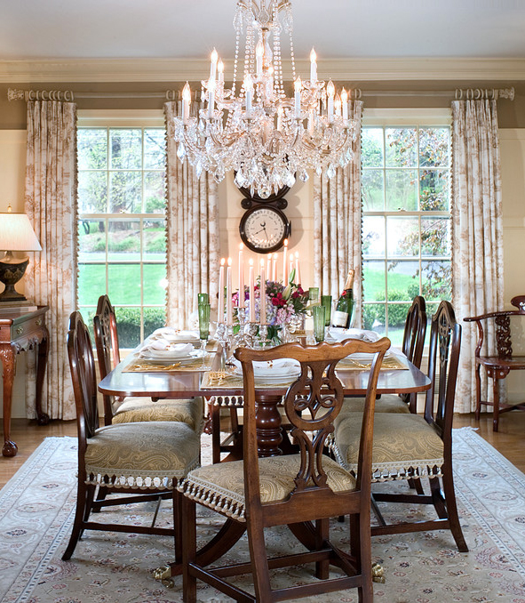 Create an elegant dining room with 3 easy steps from the for Classy dining room ideas